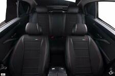 Pour VW Golf 6 7 Simili Cuir Noir & Respirant Tissu Luxe Set Complet Seat
