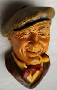 RARE BARGEE 1988 BOSSONS #168 CHALKWARE HEAD CONGLETON ENGLAND Excellent Conditi
