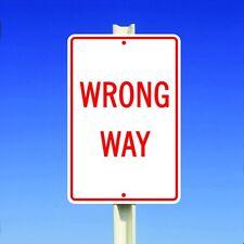 Wrong Way Aluminum Metal 8