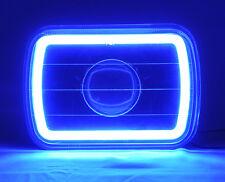 "7x6"" H4 Clear CCFL Halo Glass Projector Headlight Conversion w/ Bulbs TOYOTA"