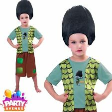Trolls Boys Costume Branch Fancy Dress Kids Dreamworks Licensed Child Outfit
