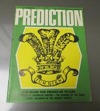 1969 PREDICTION Magazine JULY FN+ Automatic Writing Ancient Wisdom