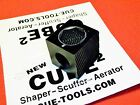 Cube-2 Cue Cube Pool Cue tip tool Shaper Scuffer Aerator Super Built To Last