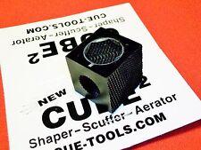 Cube-2 Cue Cube Pool Cue tip tool Shaper Scuffer Aerator Super Built To Last