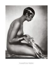 AFRICAN AMERICAN FEMALE ART PRINT - Josephine Baker - Photo 31x23 Nude Poster