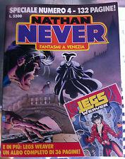 NATHAN NEVER NUMERO SPECIALE 4 + ALLEGATO - USATO DISCRETE CONDIZIONI
