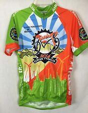 Voler S Raglan Tehachapi 2014 Gran Fondo Cycling Racing Jersey Top y1
