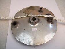 NORTON FRONT BRAKE DRUM PLATE. TRITON,DOMINATOR 77, 88, 99, ES2.MODEL 18, 19
