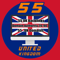 55 uk authority backlinks Domain Authority Backlins DA 20-90 - Report File incl.