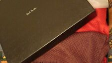 PAUL SMITH ,long cashmere / silk   scarf.  NEW+Paul Smith Box and tissue.