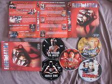 Collection Fight Action: Dolph Lundgren, Jackie Chan, Chuck Norris, 5DVD, Karaté
