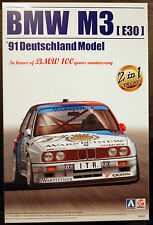 1991 BMW M 3 E 30 Gruppe A DTM Johnny Cecotto, 1:24, Aoshima Beemax 098196