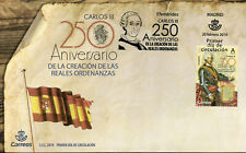 Spain 2019 FDC Royal Ordinances Carlos III 250th Anniv 1v Cover Royalty Stamps