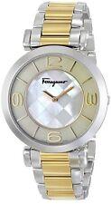 Salvatore Ferragamo Women's FG3060014 Gancino Two-Tone Bracelet Watch