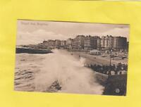 BRIGHTON   , ROUGH   SEA   .   SUSSEX        ( ZA 3  )