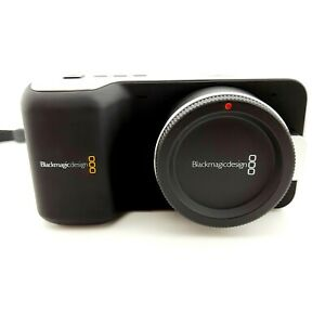 Blackmagic Pocket Cinema Camera body with charger and battery please Read..