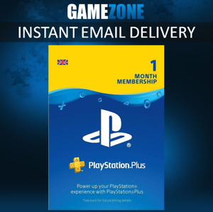 30 Days PlayStation Plus PSN Membership UK - PS Store 1 Month Code - PS4 Instant