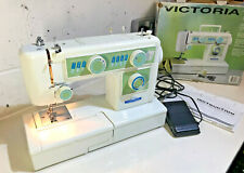 Victoria Sewing Machine 902a Automatic Freearm Single Stitch Adjustment VGC