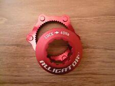 Alligator DISC Rotor Center Lock Centerlock Adapter Adaptor, Red for Shimano