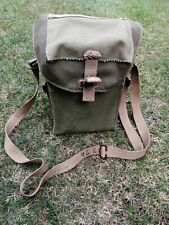 More details for british army ww2 gas mask bag