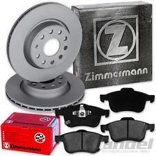 ZIMMERMANN BREMSSCHEIBEN 305mm + BELÄGE VORNE FIAT 500 L [351] ab Bj. 2012