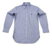 Ralph Lauren Men's Slim Fit Checkered Shirt In Blue/White