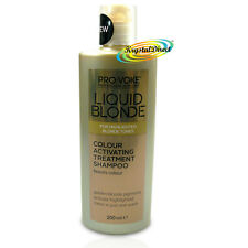 LIQUID BLONDE Activating Golden Treatment SHAMPOO 200ml - Boosts Colour