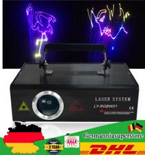 500mW RGB Laser Licht  ILDA DMX Bühnenbeleuchtung 128 effect Lampe Stage Bar DJ