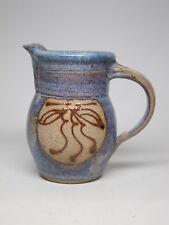 Rare Synanon Ceramics CULT Stoneware Pitcher Creamer San Francisco CA 1980s VTG