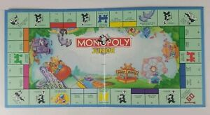 Monopoly Junior Game Replacement Game Board With Box 1999