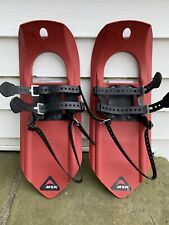 New listing Msr Tyker Snowshoes 17�, 90lbs Capacity