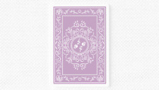 More details for black roses lavender (marked) edition playing cards