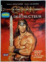 CONAN LE DESTRUCTEUR // ADAPTATION OFF. EN BD // J. BUSCEMA (AREDIT, 1984) [TBE]