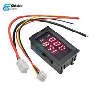 DC 0-100V 50A Red+Red Dual LED Digital Voltmeter Ammeter Panel Amp Voltage Gauge