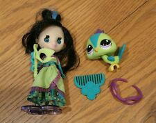 Authentic Littlest Pet Shop Blythe doll #B44 #2412 Peacock GORGEOUS IN GREEN