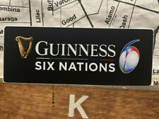 Guinness Six Nations Rugby Vinyl Sticker Decal 4�