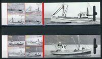 Island Markenheftchen MiNr. 20-21 postfrisch MNH Fischkutter (H881