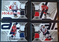 Complete Set of 2014-15 Black Diamond Dual Jersey Washington Capitals Ovechkin