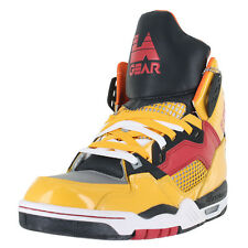 LA Gear Retro Kaj Hi-Top LAKA89-1 Yellow Red Mens US size 9.5