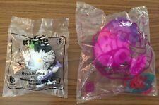 New Lot - (2) McDonald's Happy Meal Toys - Hello Kitty/Pikmi Pops
