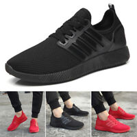 2018 Mens Running Trainers Lace Up Casual Shoes Fashion Gym Sneakers UK Size 6-8