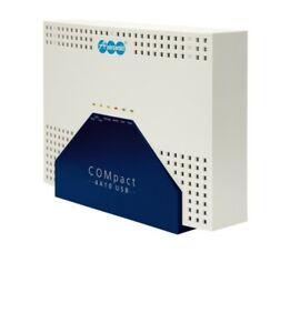 Auerswald ISDN Nebenstellenanlage COMpact 4410usb + extra S0-Karte, Top Zustand!