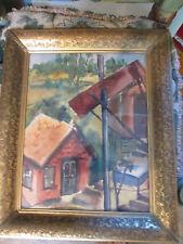 1930's WPA Watercolor