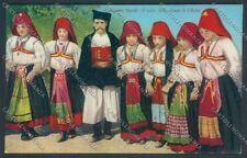 Nuoro Costumi Sardi Ollolai cartolina ZG0503