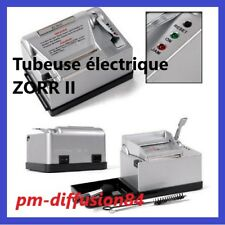 TUBEUSE Electrique ZORR DeLuxe Powermatic II.  Machine pour tous tubes  + 100s