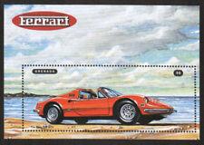 Grenada Stamp - Ferrari Sports Car Dino 246 GTS Stamp - NH