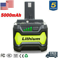 18V 5.0Ah P108 For Ryobi 18 Volt One Plus Lithium High Capacity Battery P122 NEW