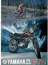 1972 Yamaha 175 Single Enduro CT2 factory original sales brochure(Reprint) $9.00