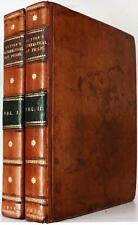 RARE 1815 PHILOSOPHICAL AND MATHEMATICAL DICTIONARY ASTRONOMY STEEL PLATES FOLIO
