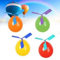 Hot New Balloon Aircraft Helicopter For Kids Party Filler Flying Toy Gift BE